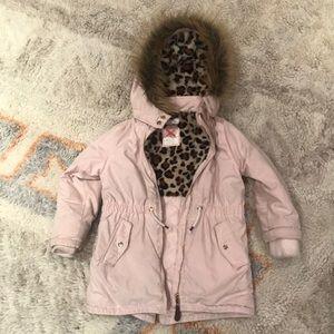 H&M kids parka / puffer / hooded